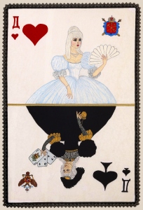 6. Queen of Spades another side