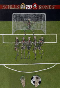 11. The Penalty kick  (size: 50x70см=19.7 in- 27.6 in)