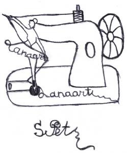 2. Logo of my site Lanaart