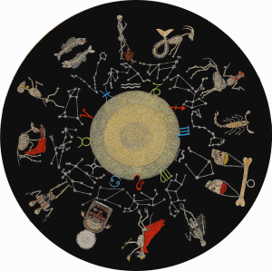 3.The Bone Horoscope (diameter 100см=39.4 in)