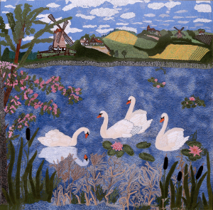 4. The ugly Duckling (size 100x100cm)