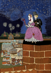 5. The Shepherdess and the Chimney Sweep (size 60x80cm)