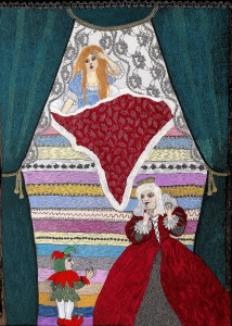 7. The Princess on Pea (size 60x80cm)
