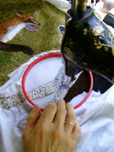 7. The process of creating a picture 4