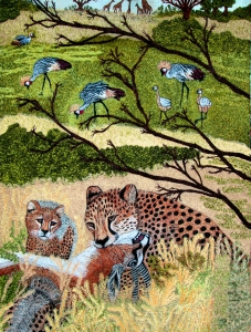 8. Cheetah and prey